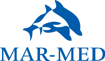 Mar-Med logo blue